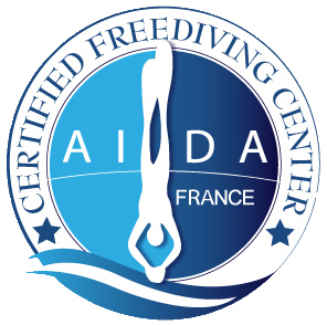 AIDA certification Freediving center